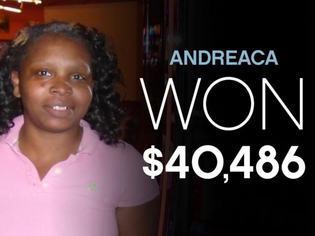Andreaca - Won $40,486