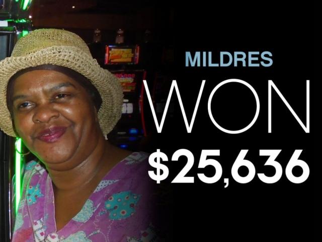 Mildres - Won $25,636