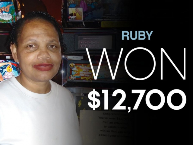 Ruby - Won $12,700
