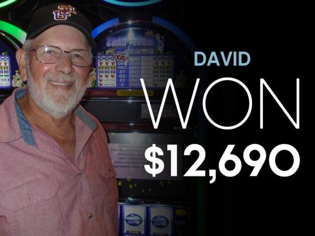 David-Won $12,690